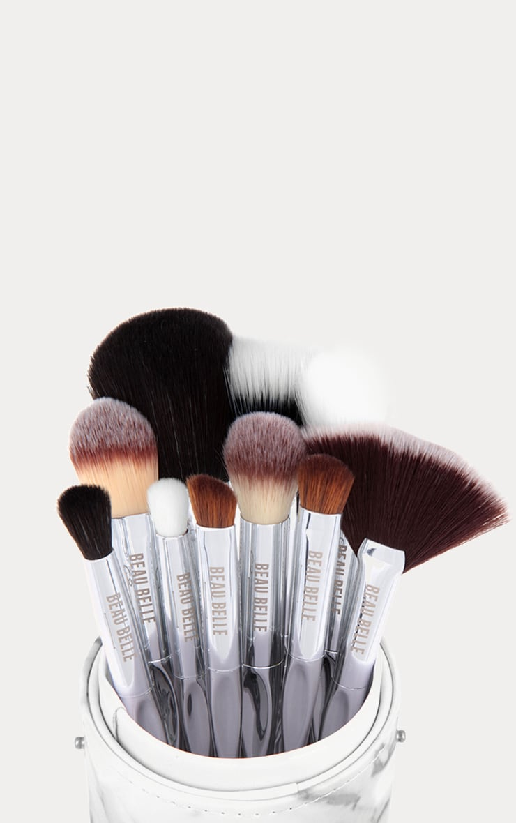 Beau Belle Marble Brush Set 5