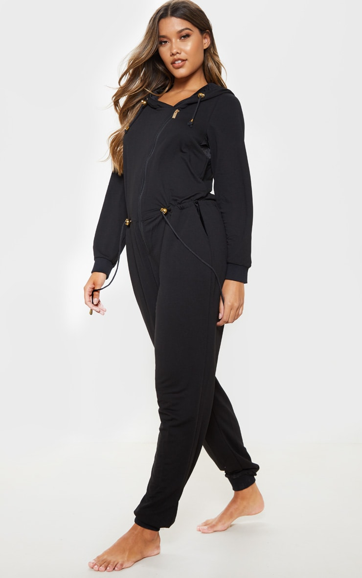 Bronzie Chelsea After Tan Jumpsuit Black 4
