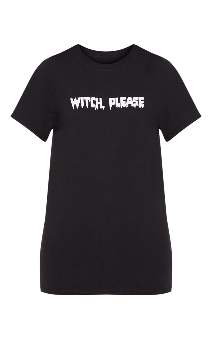 Petite Witch Please Black T-Shirt 3