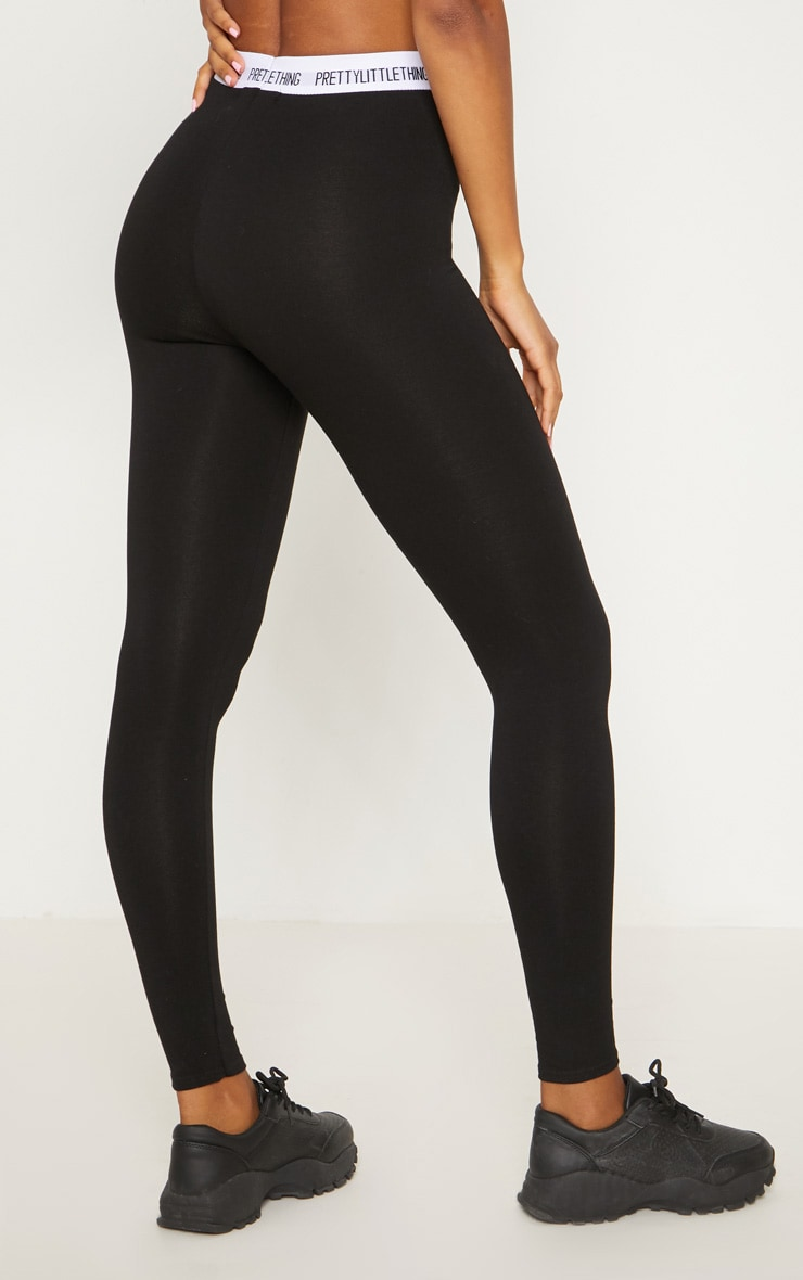 PRETTYLITTLETHING Black Leggings 4