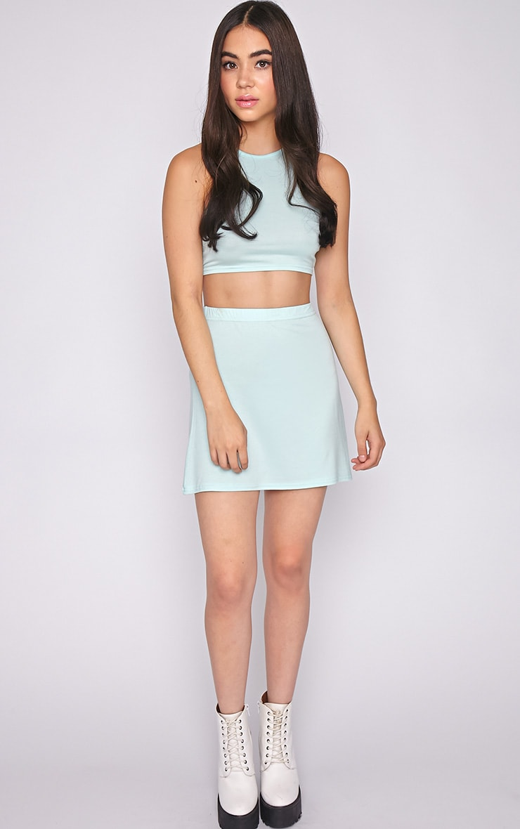 Madelyn Mint Crop Top 2