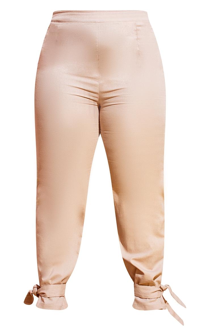 Plus Stone Tie Hem Pants 5