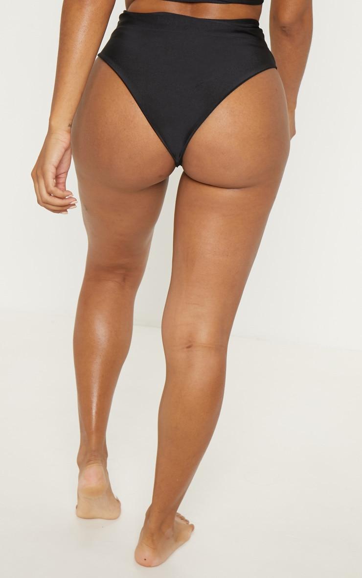 Shape Black High Waisted Bikini Bottom 4