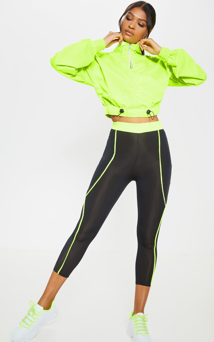 Lime Shell Zip Up Tracksuit Top 3