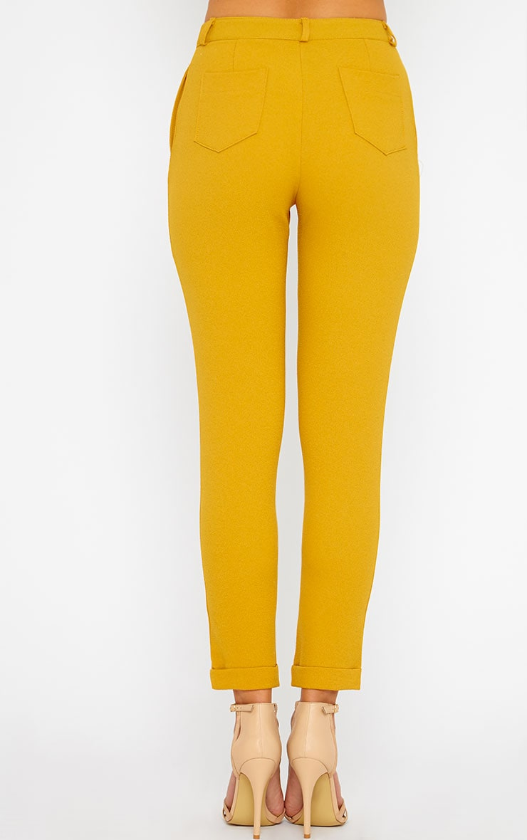 Twiggy Mustard Trousers 2