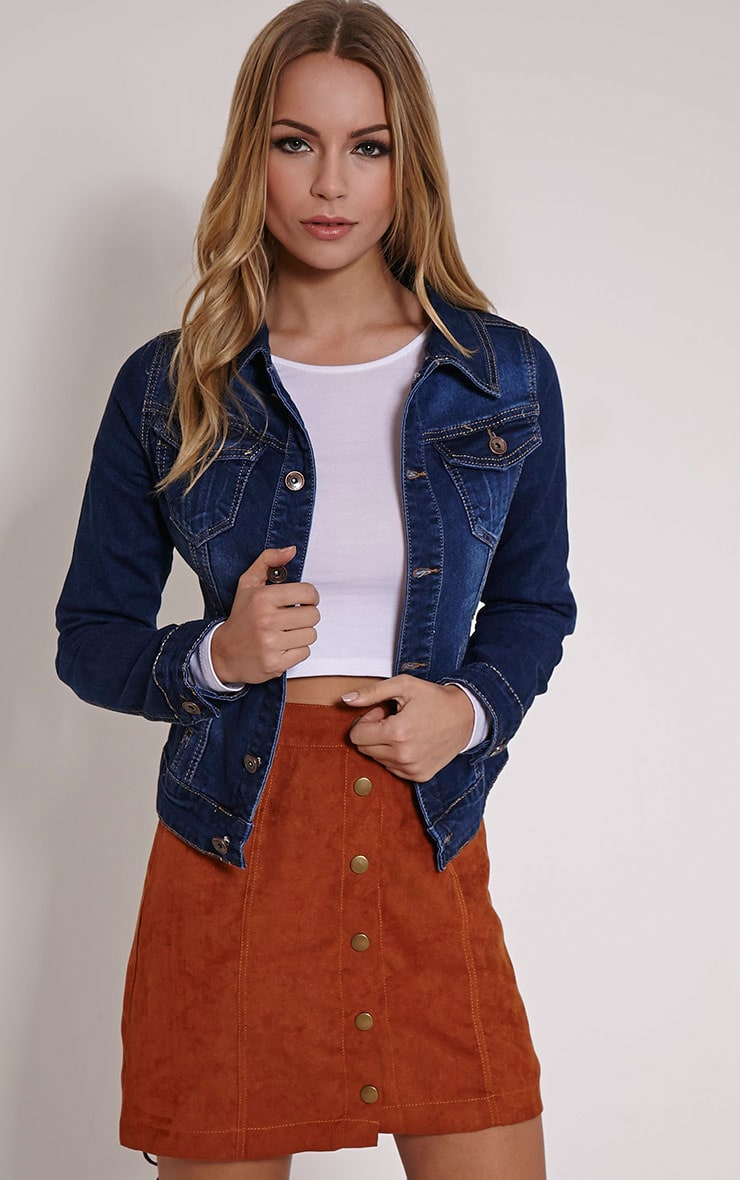 Binky Blue Denim Jacket 1