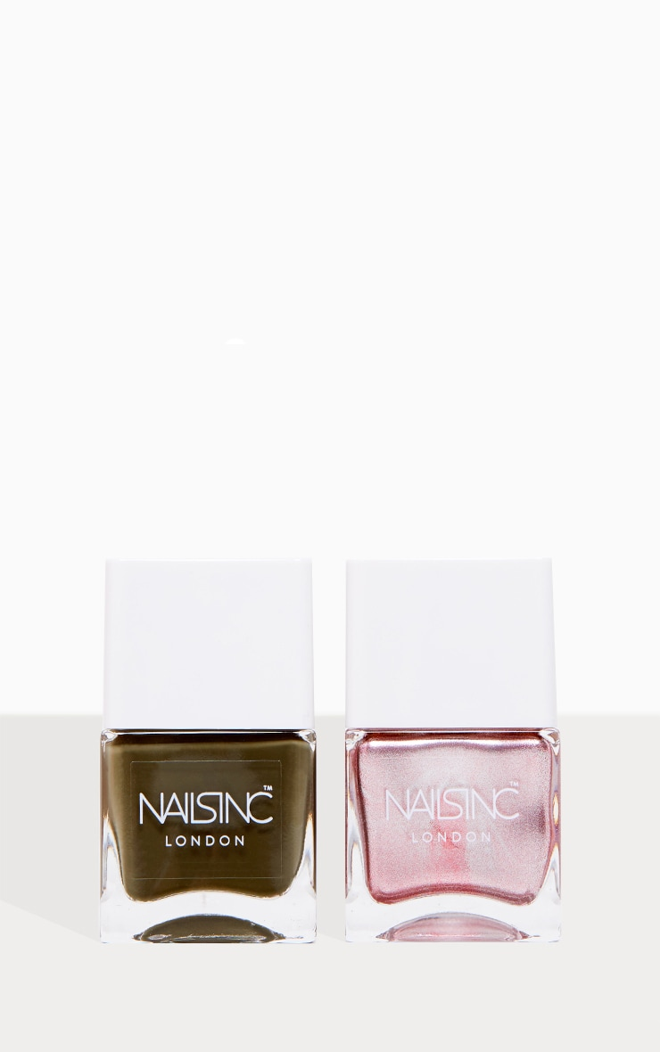 Nails Inc Sparkle Girl King Nail Polish Set 2