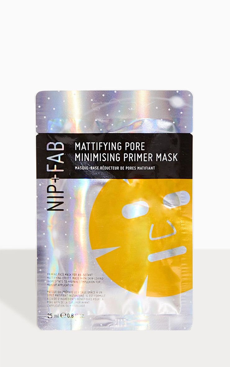 NIP&FAB Make Up Oil Control Mattifying Priming Sheet Mask