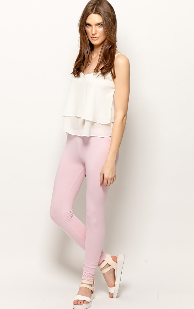 Harriet Pink Basic leggings-M 1