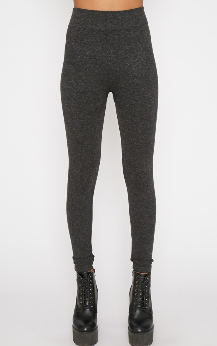 Nadia Grey Wool Legging -L/XL 4