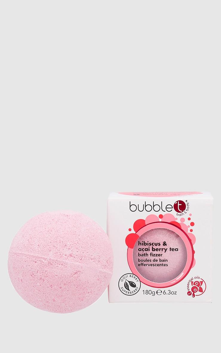 Bubble T Bath Fizzer In Hibiscus & Acai Berry 2