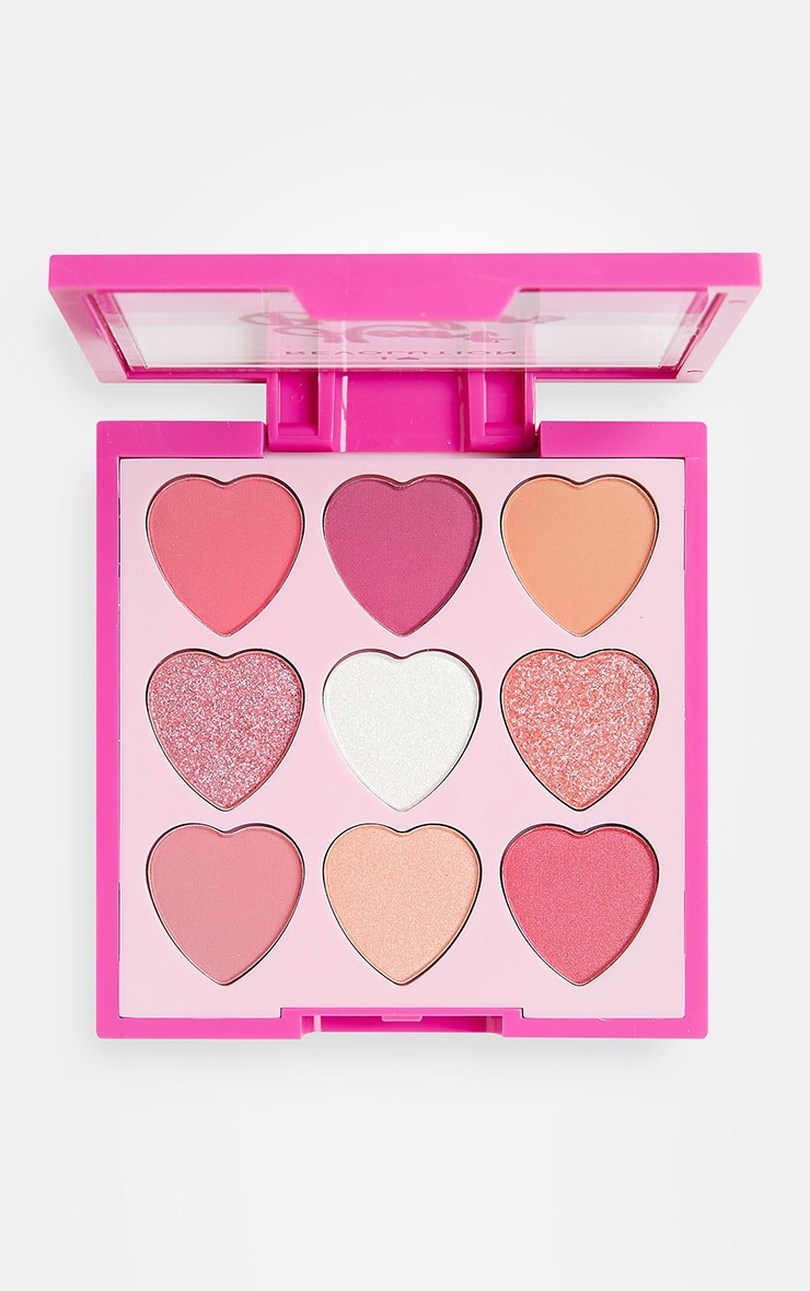 I Heart Revolution Heartbreakers Eyeshadow Palette Sweetheart 1