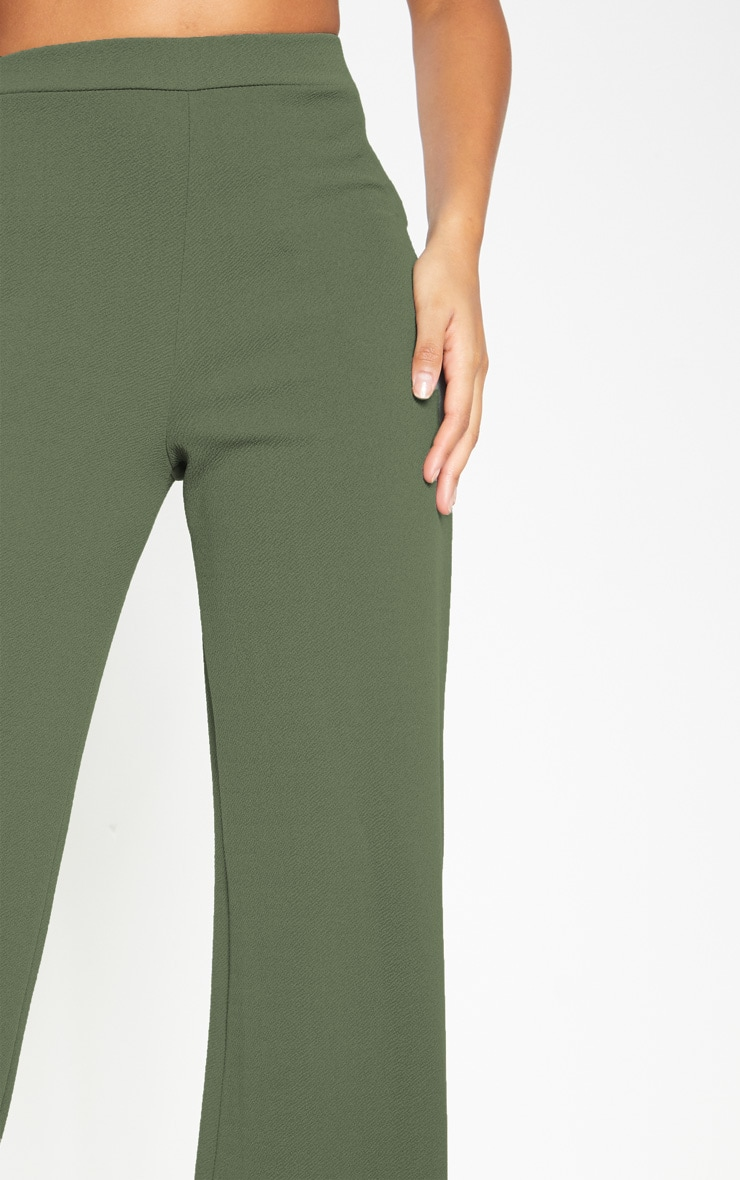 Sage Khaki Wide Leg Pants  5