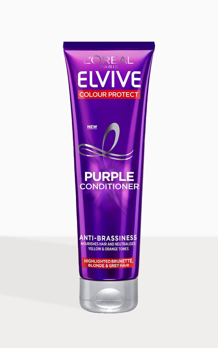L'Oreal Elvive Colour Protect Anti-Brassiness Purple Conditioner 150ml 1