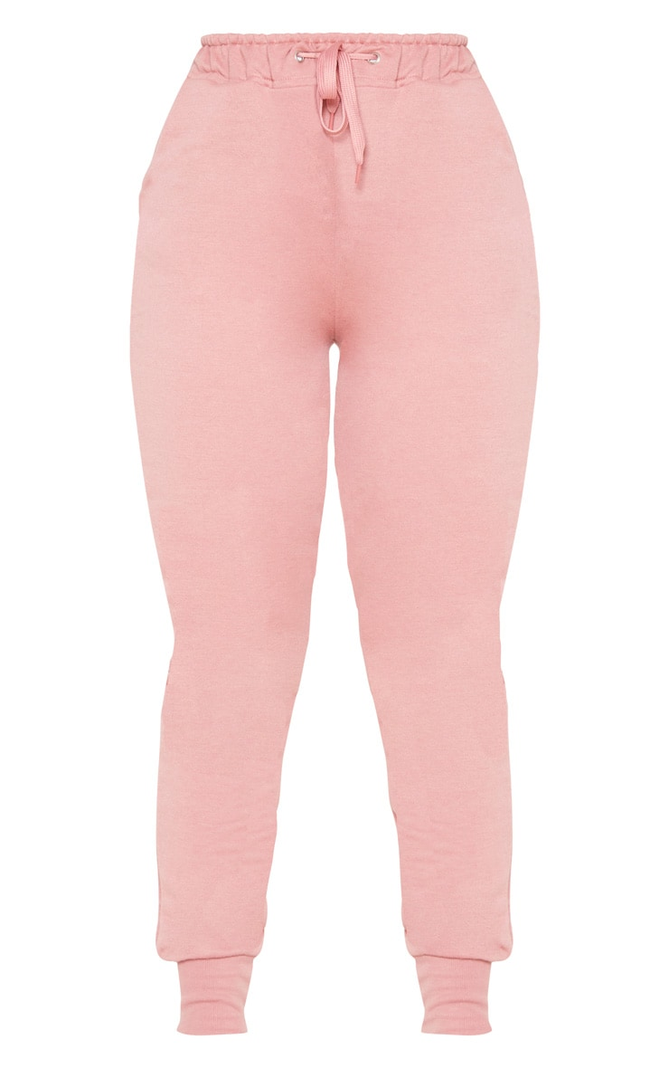 Dusty Pink Basic Gym Sweat Jogger 5