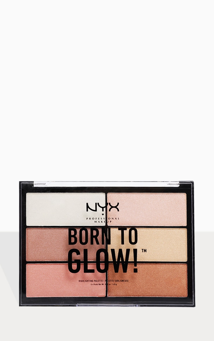 NYX Professional Makeup Born to Glow Highlighting Palette  3