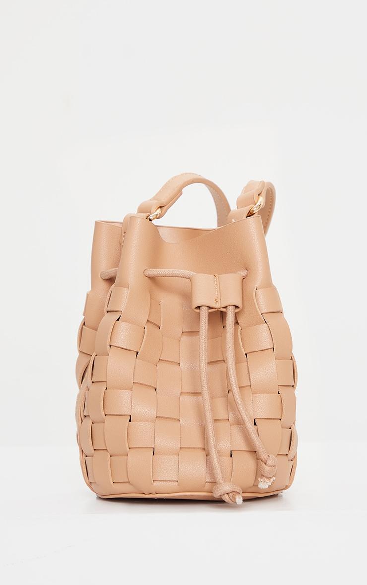 Nude Weave Cross Body Bag 3
