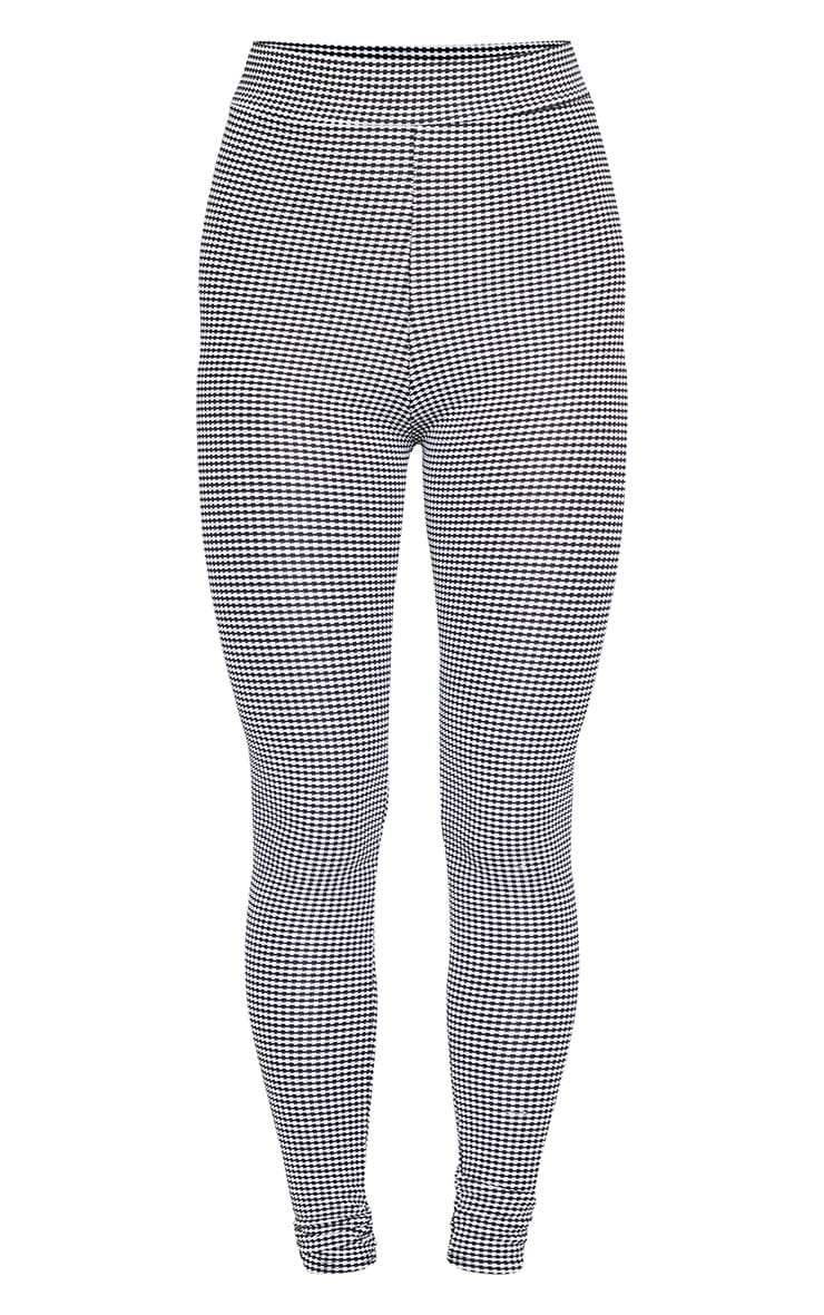 Houndstooth High Waisted Legging 4