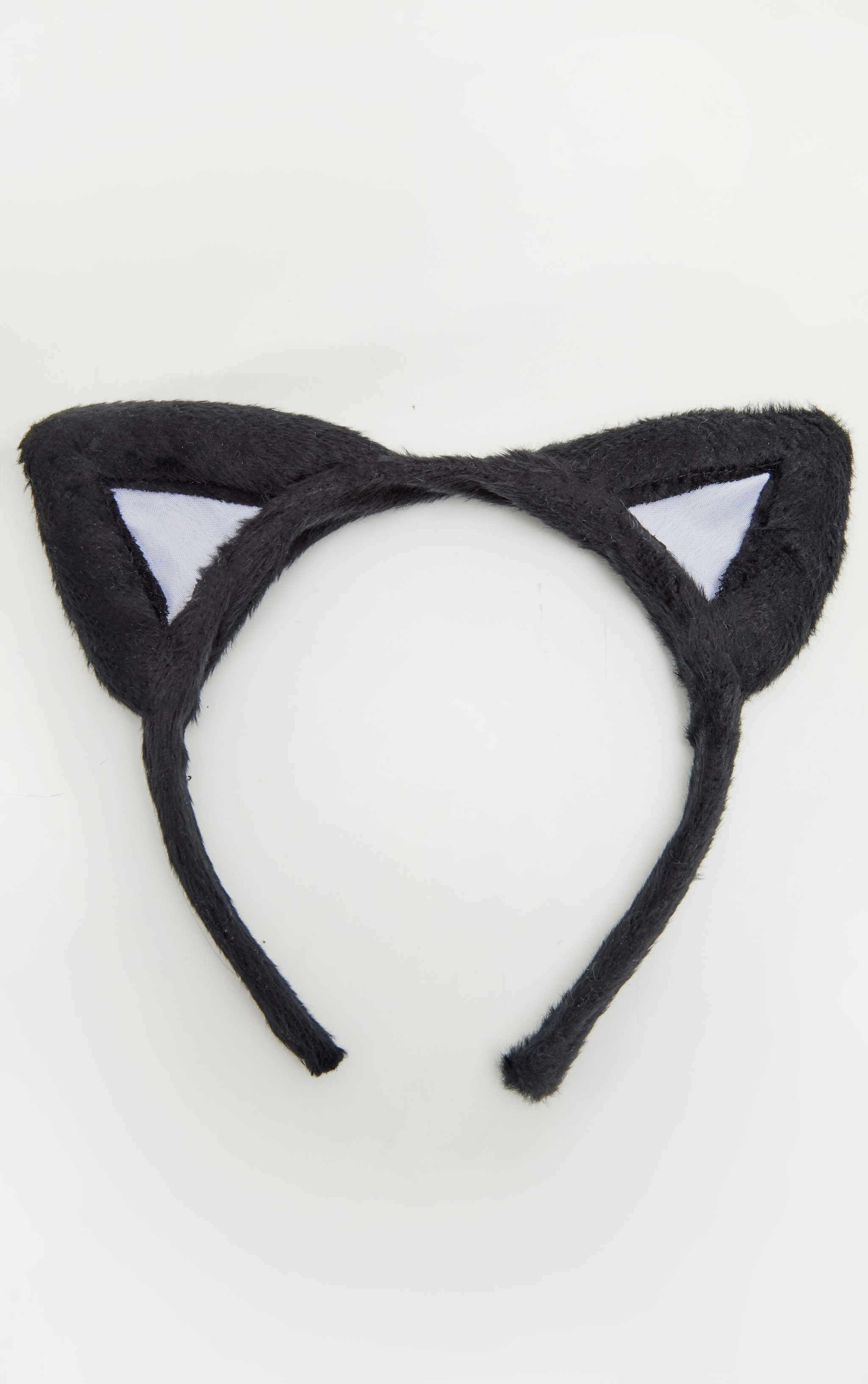 Black Halloween Cat Ears 2