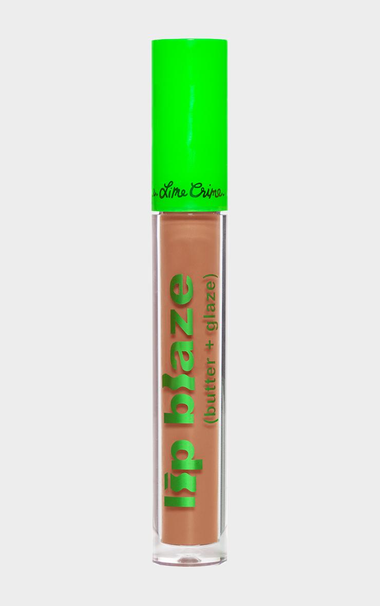 Lime Crime Lip Blaze Cream Liquid Lipstick Apple 4