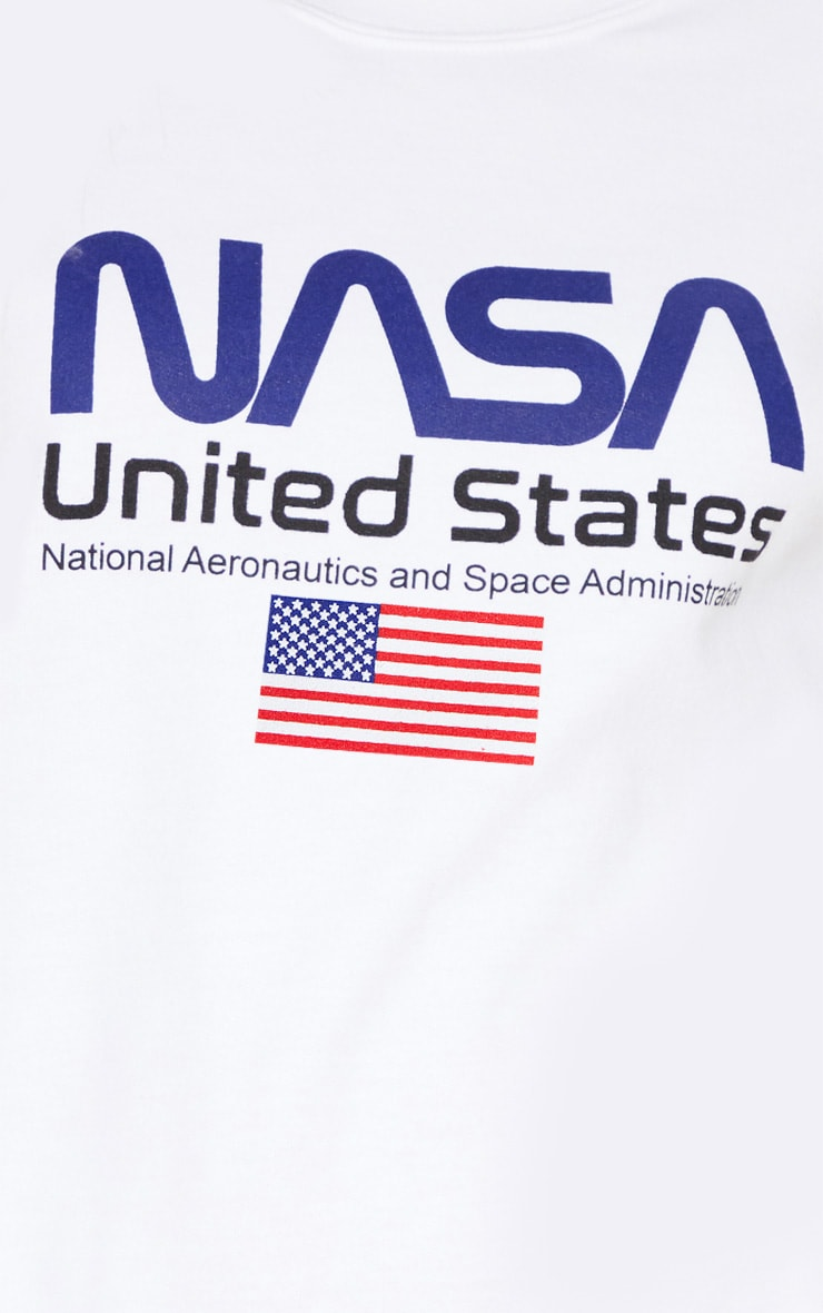 White NASA Sweater 5