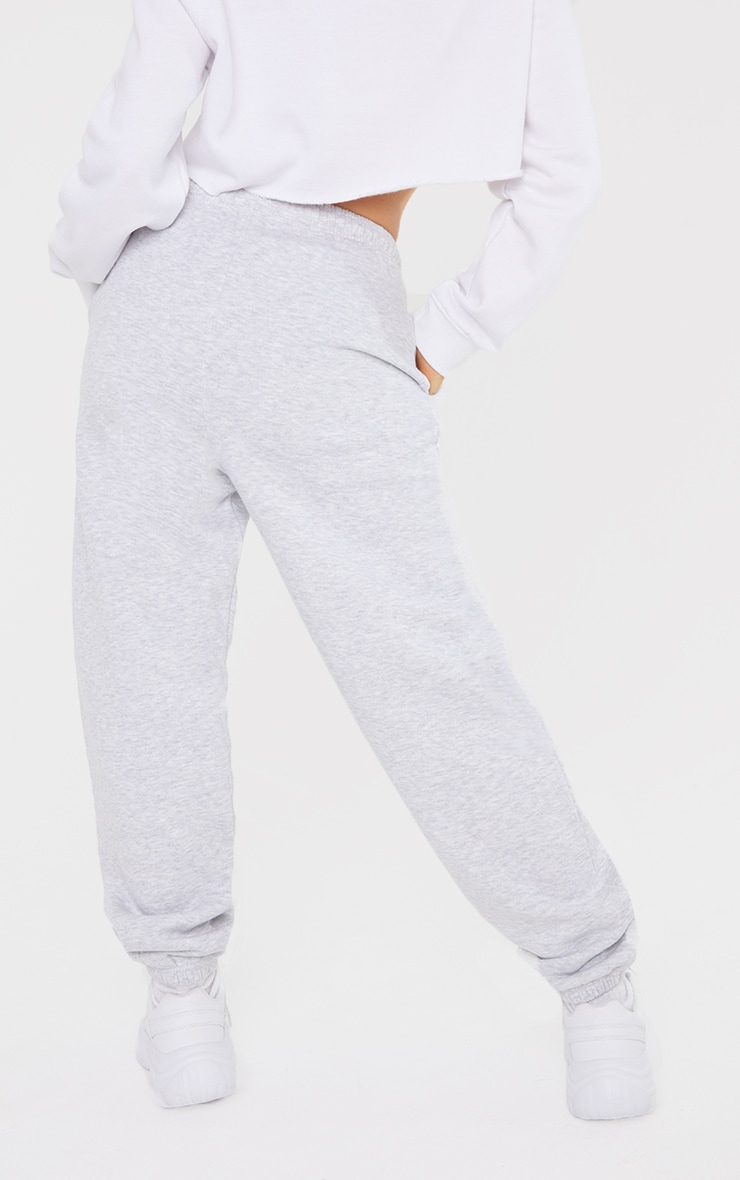 Petite Grey Ultimate Marl Sweat Joggers 3