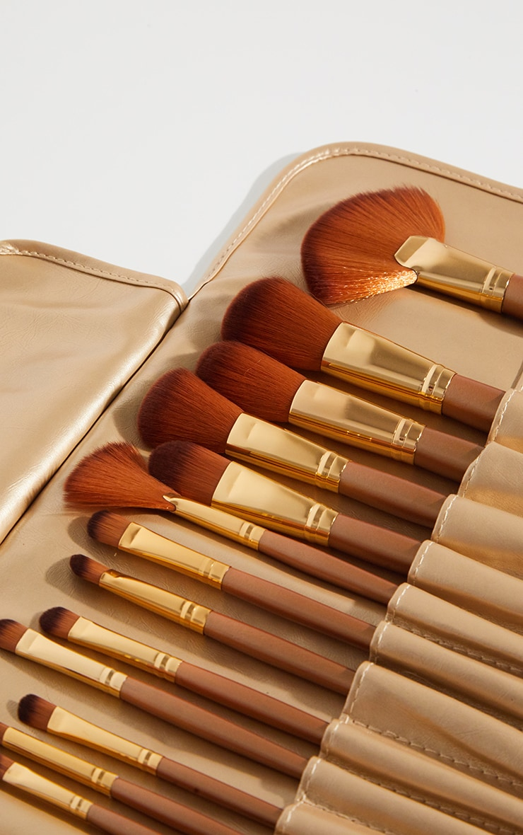 Beau Belle Brushes 21 Piece Gold Set 2