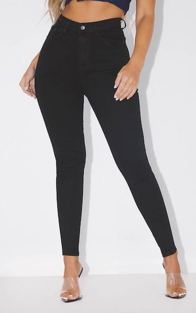 PRETTYLITTLETHING Black 5 Pocket Skinny Jean