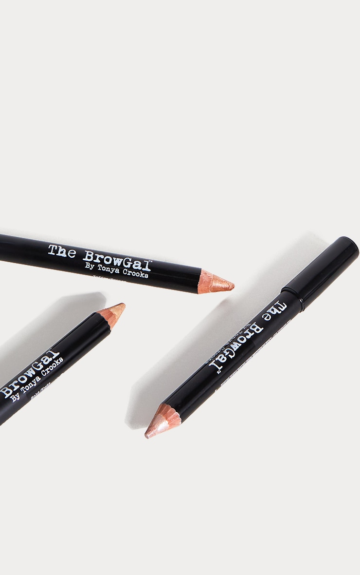 The BrowGal Highlighter Pencil 01 Champagne Cherub 3