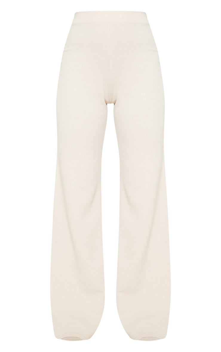 Stone Wide Leg Trouser 3