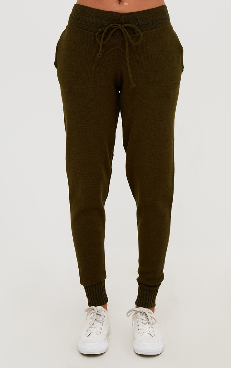 Khaki Jogger Jumper Knitted Lounge Set 6
