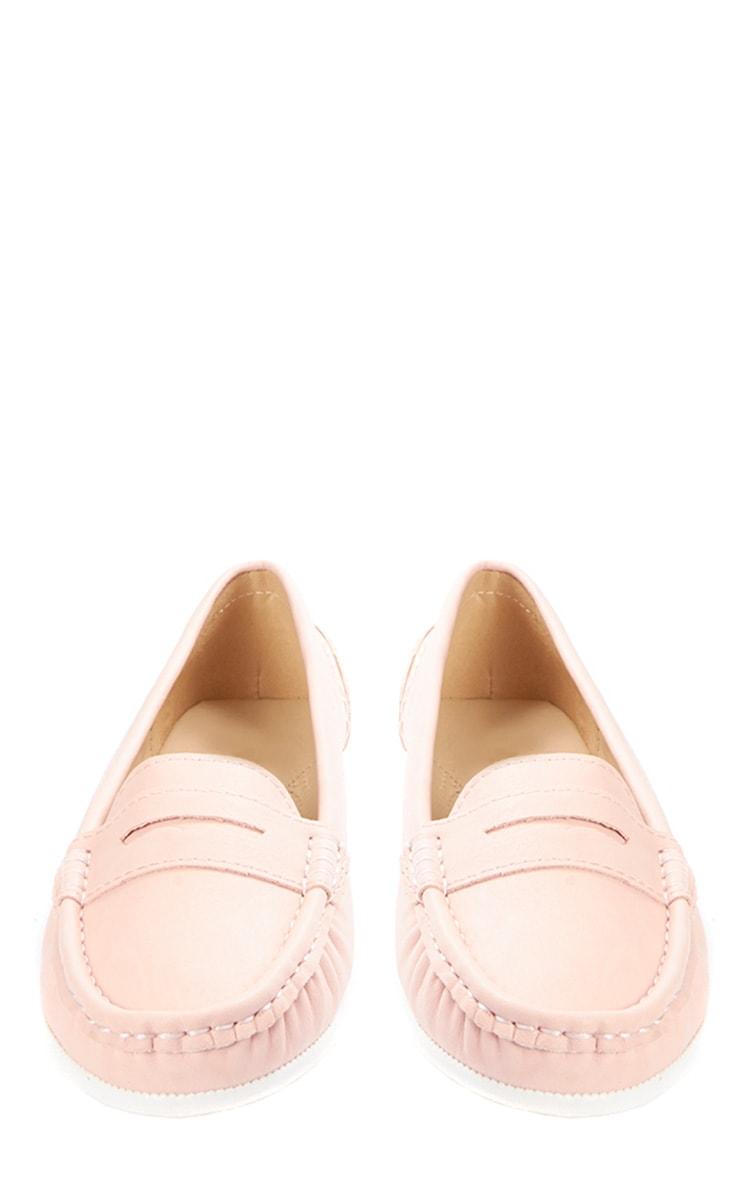 Greta Pink Suede Loafer  2