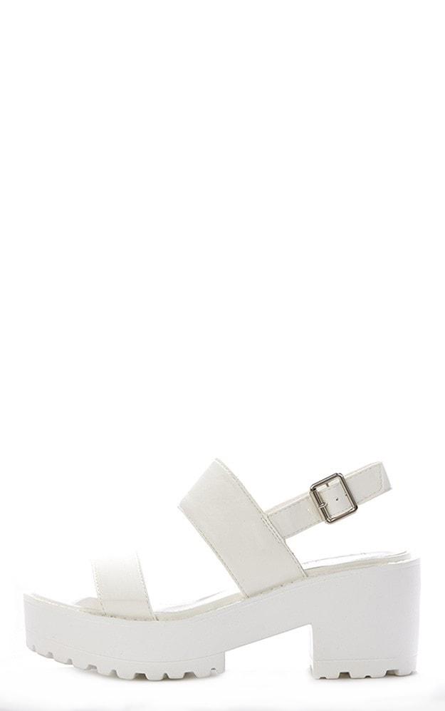 Lillian White Sling Back Sandals 1