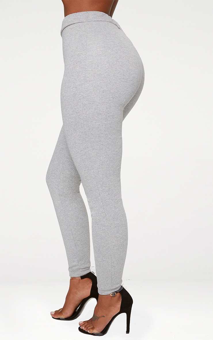 Shape Grey Elastic Bottom Joggers 4