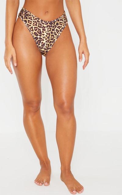 Leopard Mix & Match Cheeky Bum Bikini Bottom