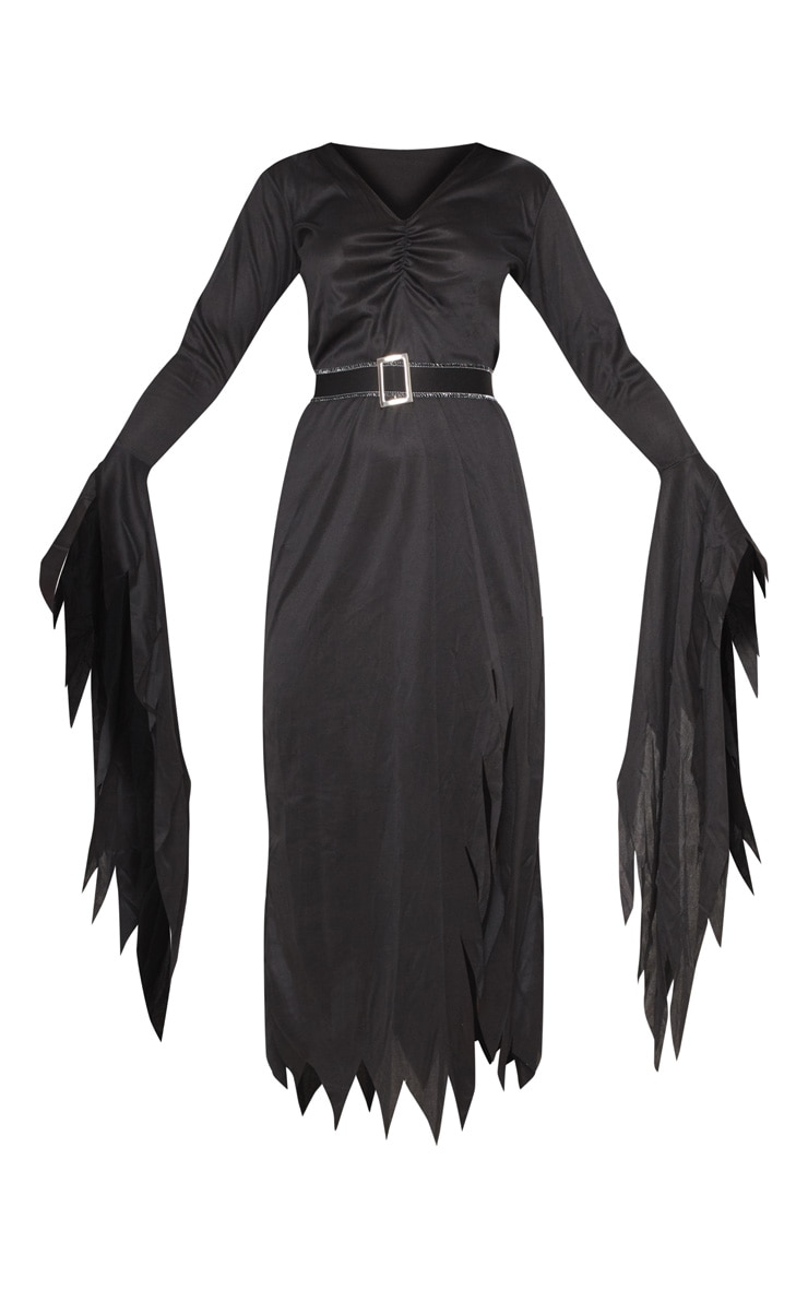 Gothic Witch Halloween Fancy Dress Outfit 3