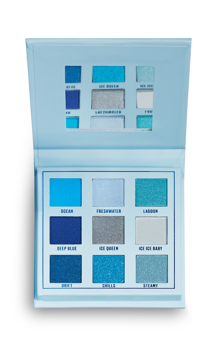 Makeup Obsession Ocean Blues Shadow Palette 2