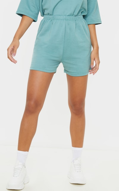 Dusty Turquoise Jogger Sweat Short