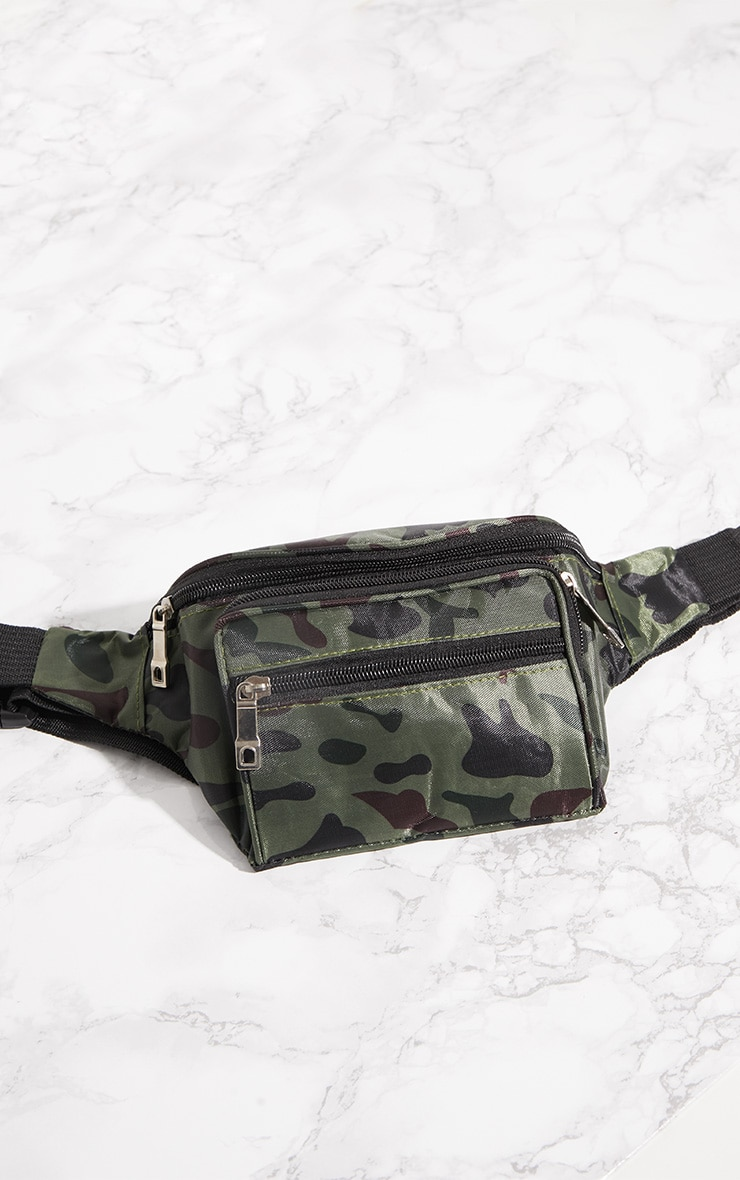 Camo Zip Bum Bag 4