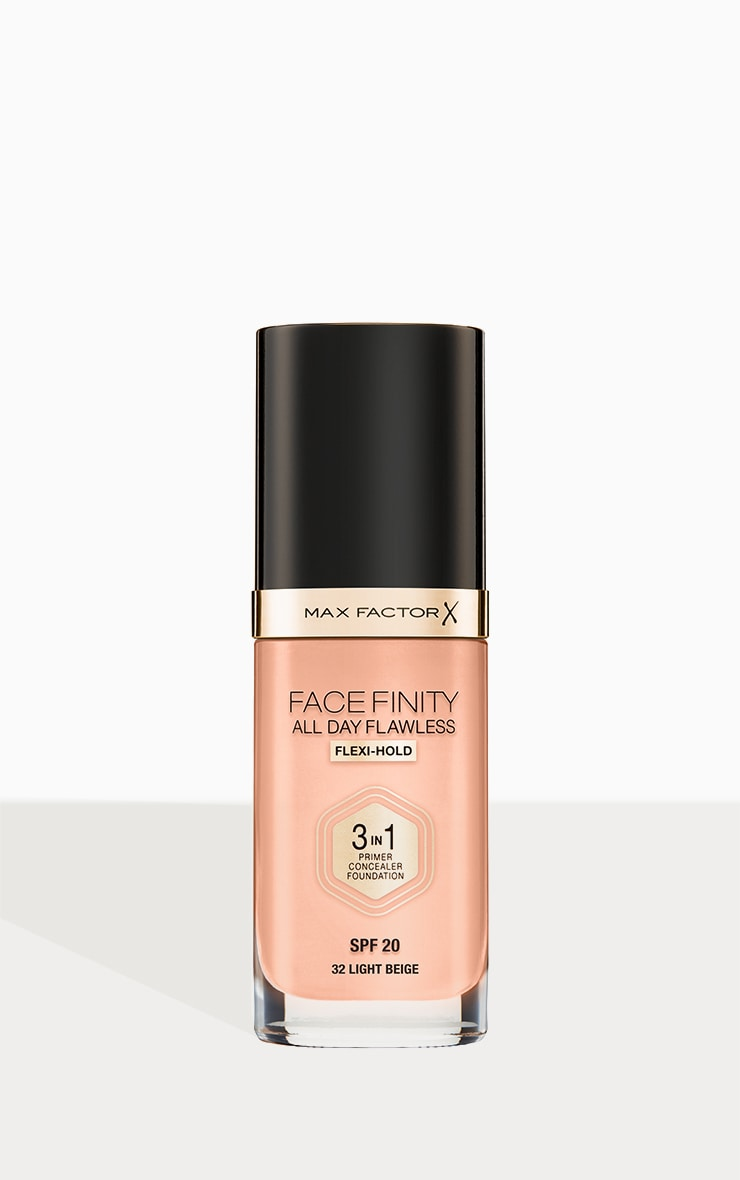 Max Factor Facefinity All Day Flawless Foundation Light Beige 1