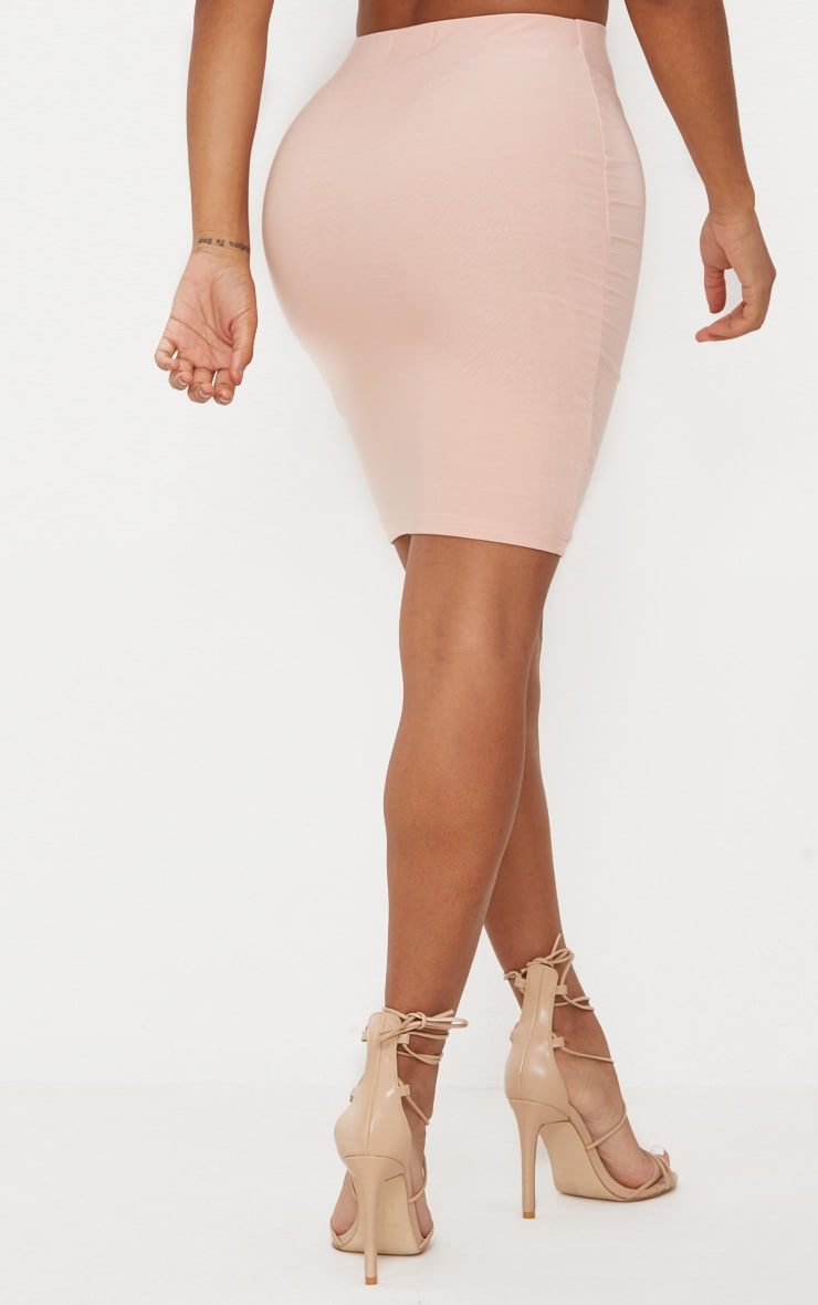 Shape Nude Slinky Bodycon Skirt 3
