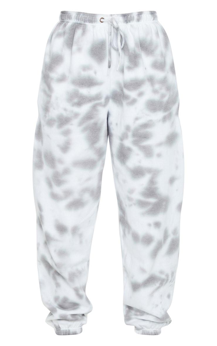 Grey Acid Wash Joggers 5
