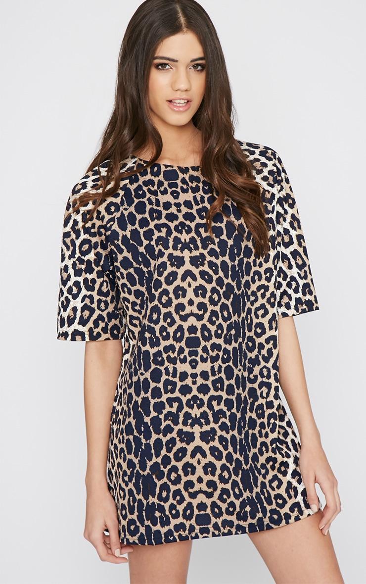 Chepi Leopard Shift Dress 4