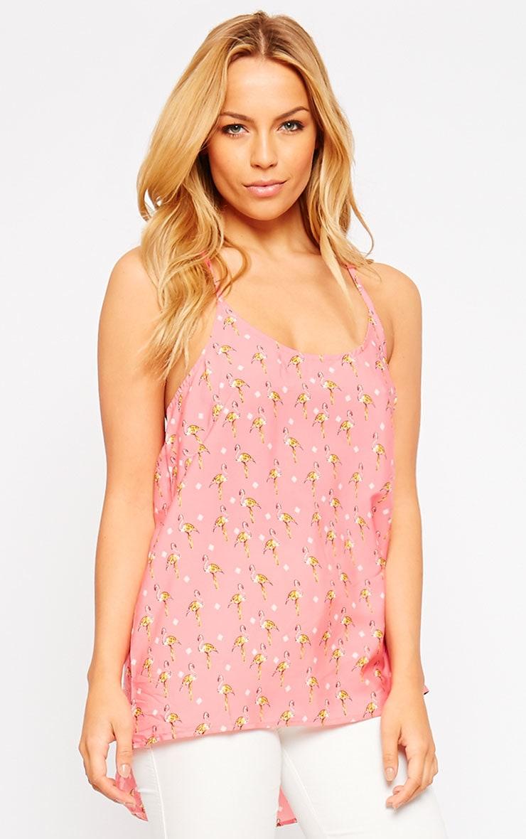 Raakel Pink Flamingo Vest 3