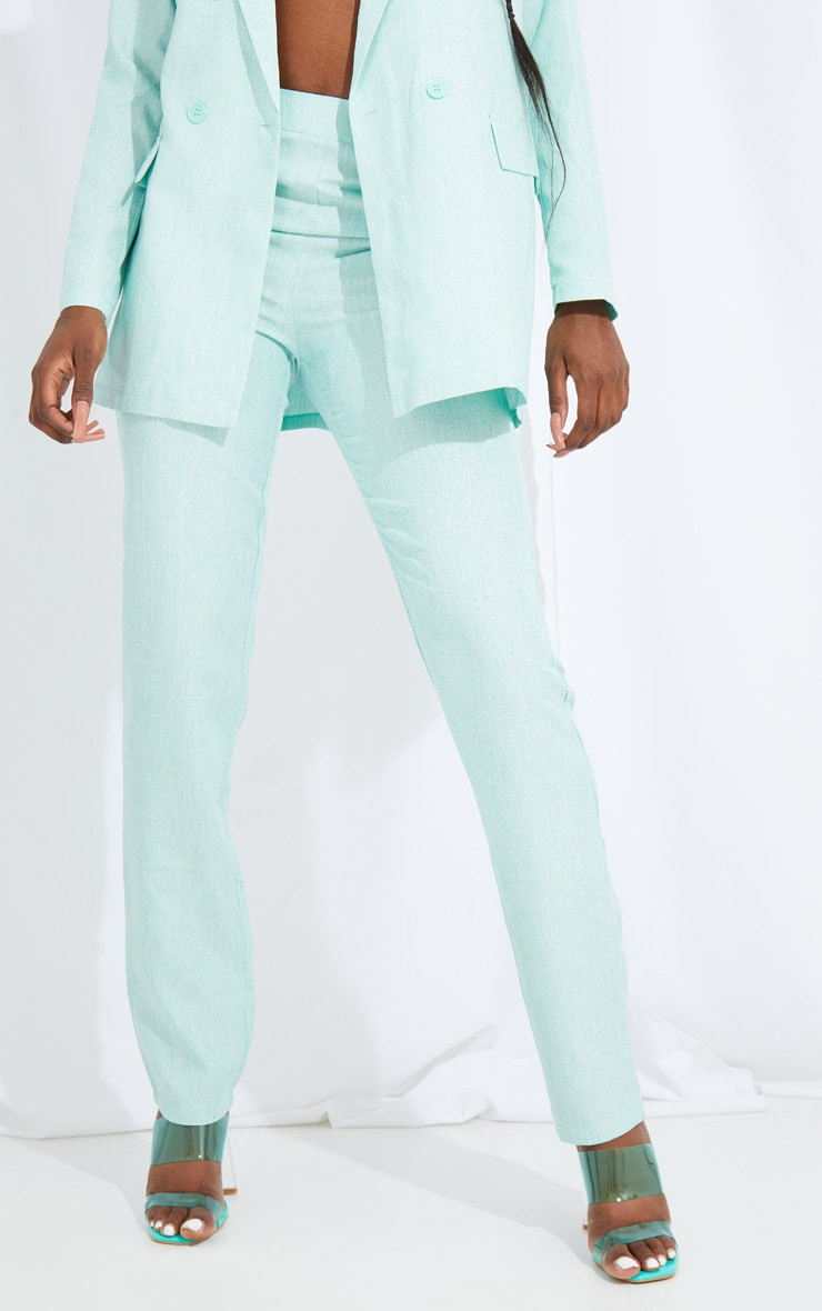 Tall Mint Oversized Wide Leg Suit Pants 2