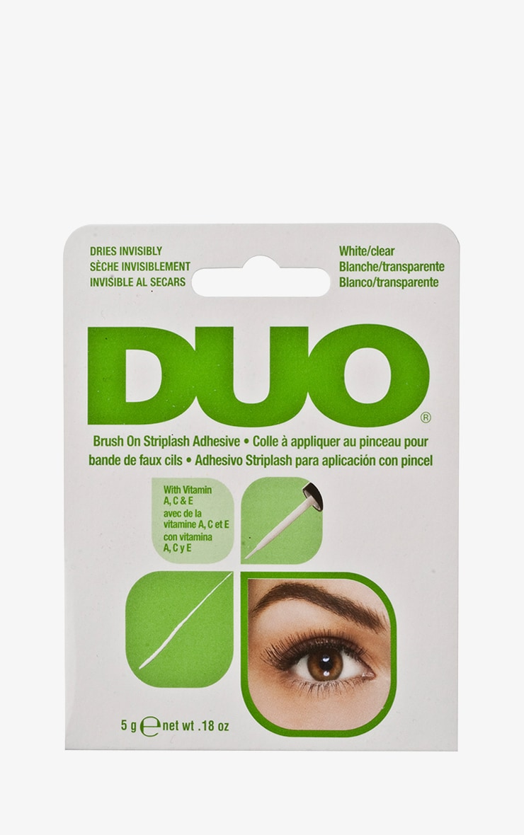 Duo Brush On Eyelash Glue  - Clear 1