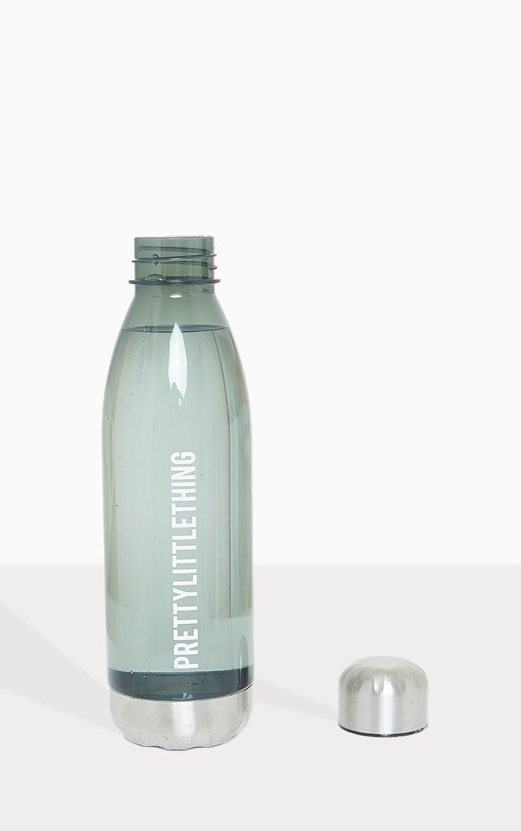 PRETTYLITTLETHING Smoke Glass Water Bottle 1