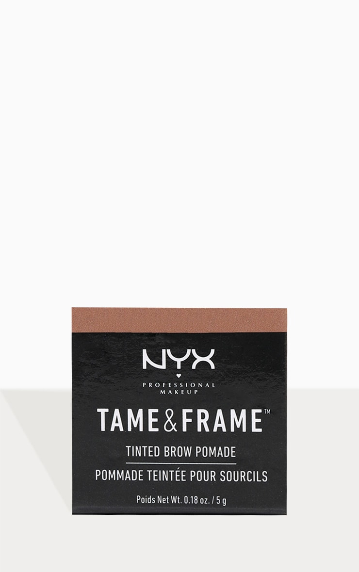 NYX PMU Tame & Frame Brow Pomade Chocolate 3