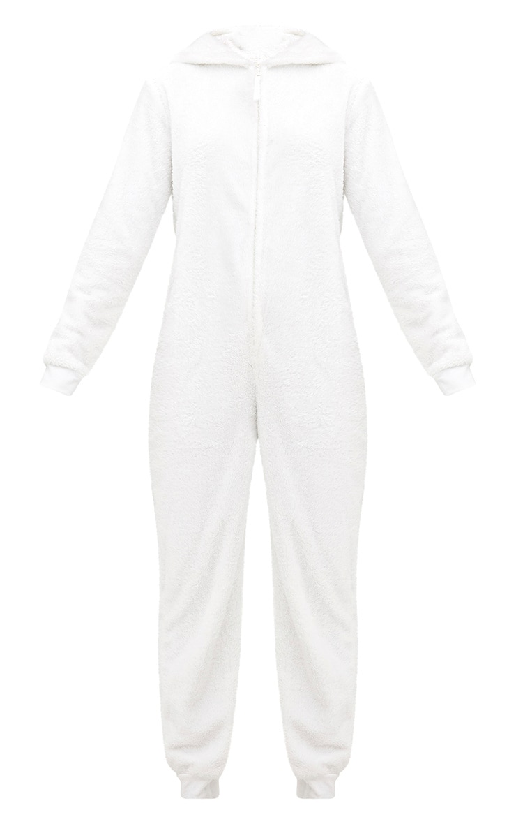 White Polar Bear Onesie 3