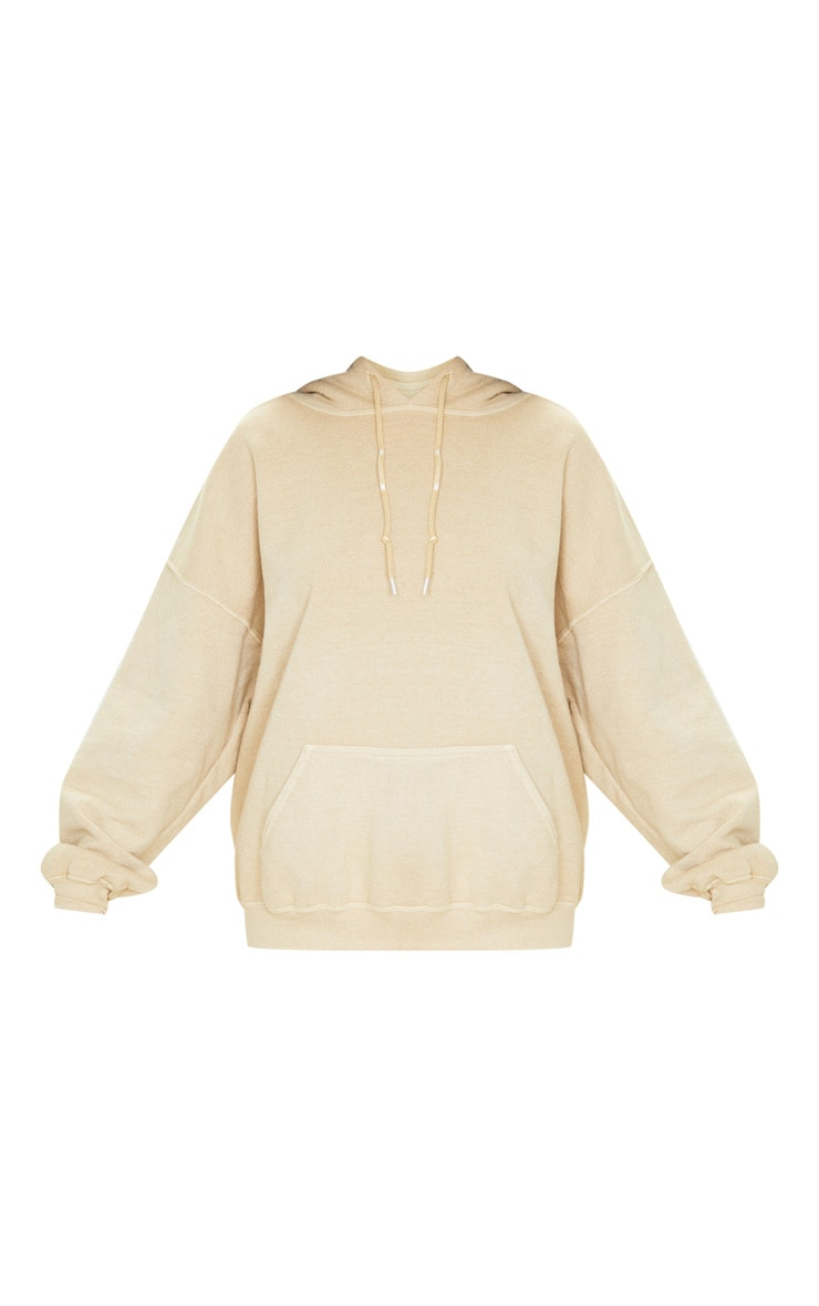 Fawn Washed Ultimate Oversized Hoodie 3